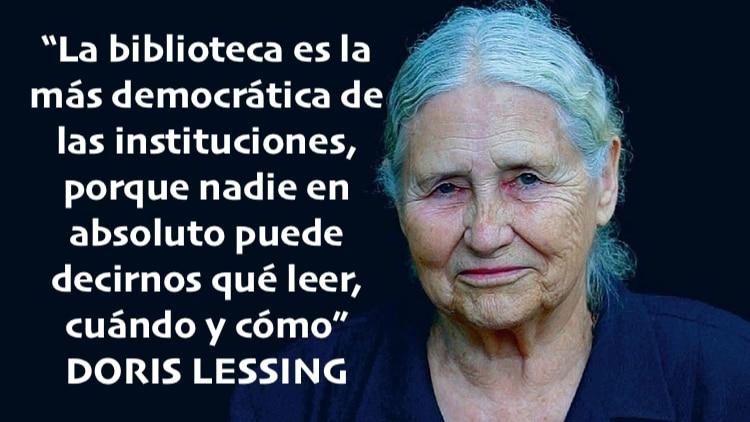 Cita de Doris Lessing
