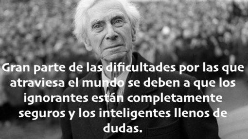 Cita de Bertrand Russell
