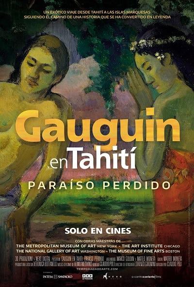 """""""GAUGUIN EN TAHITÍ. PARAÍSO PERDIDO"""" – ESTRENO EN CINES: 17 DE FEBRERO"""