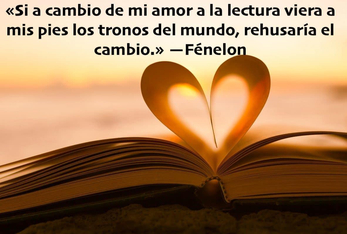 Cita de Fénelon sobre el Amor… a los libros