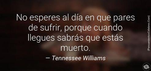 Hace 37 años nos dejaba Tennessee Williams: