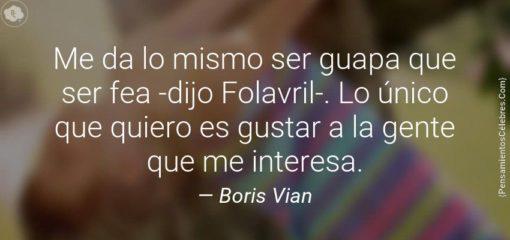 Cita de Boris Vian en el centenario de su nacimiento
