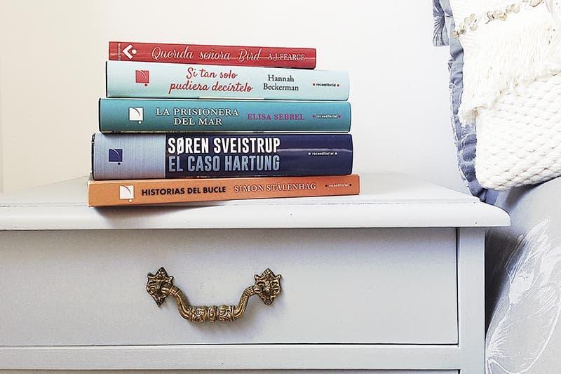 13 libros para un confinamiento lector