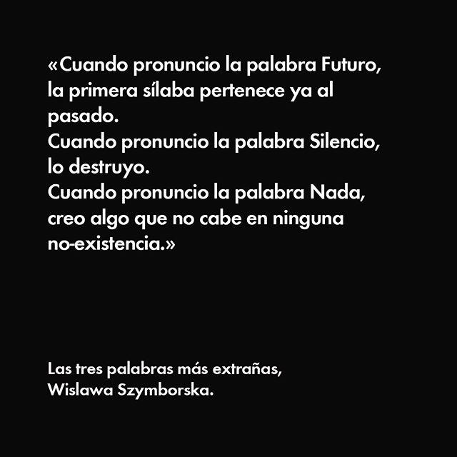Poema de Wislawa Szymborska