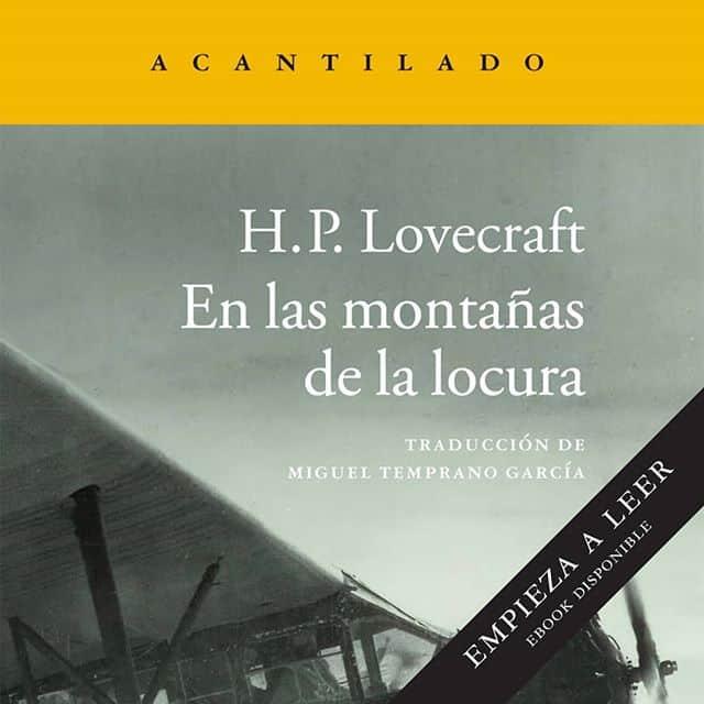 @acantilado1999 regala durante 48 horas  «En las montañas de la locura», de H.P. Lovecraft
