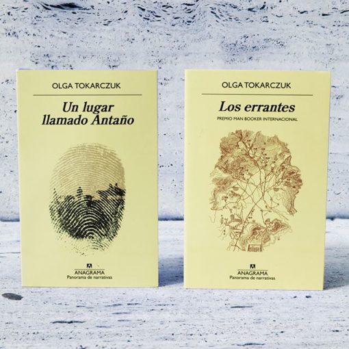 Dos libros para descubrir a Olga Tokarczuk
