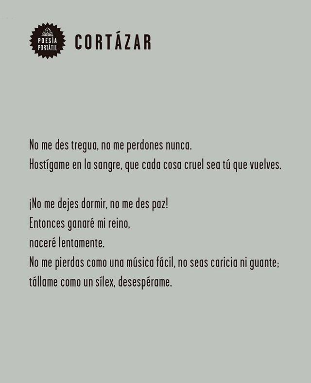 'Que cada cosa cruel sea tú que vuelves' abre una ventana a la #poesía de Julio Cortázar.