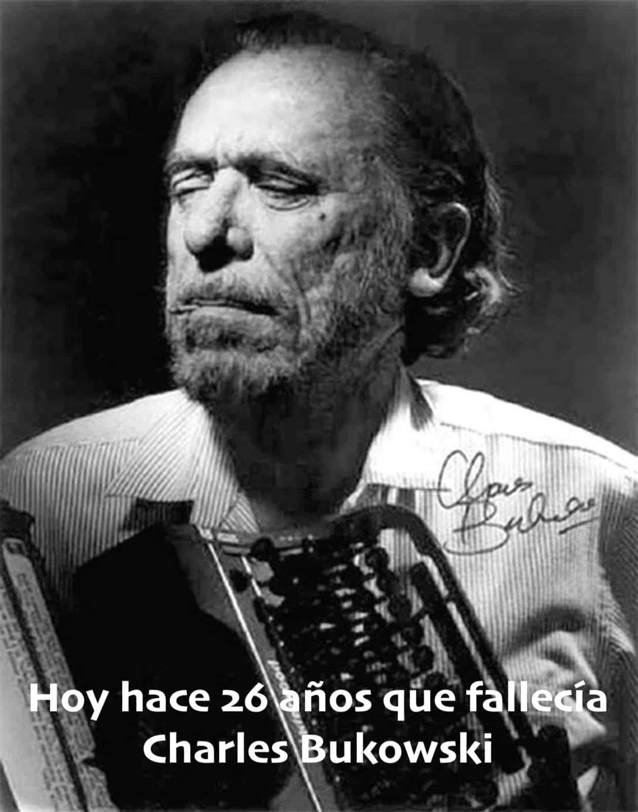 """5 Poemas """"cortos"""" de Charles Bukowski"""