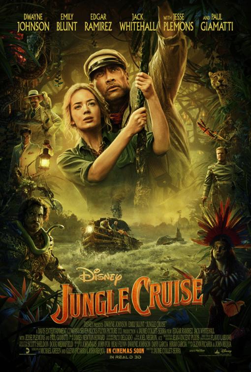 JUNGLE CRUISE protagonizada por Emily Blunt y Dwayne Johnson. Nuevo tráiler. Estreno 24 de julio.