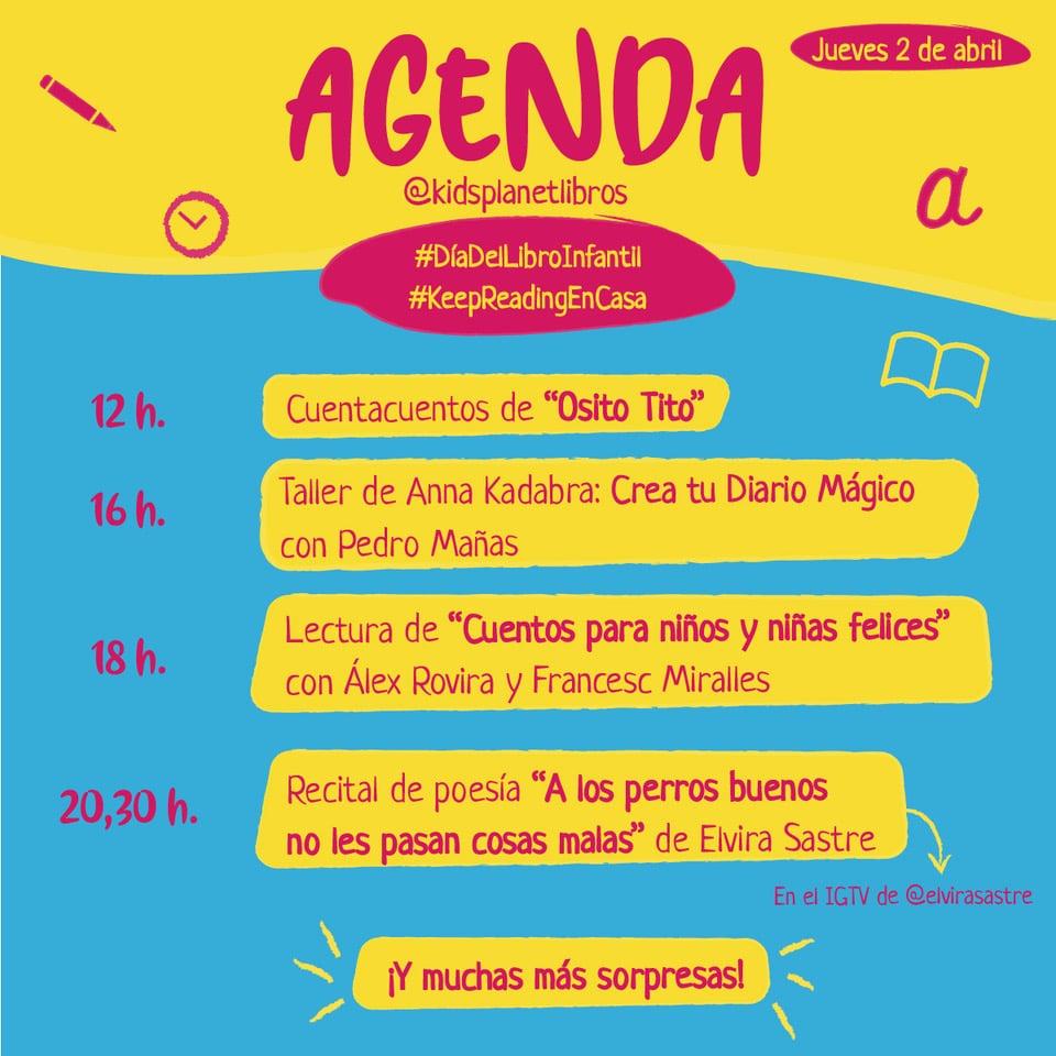 Va por los niños: Propuestas para el día del libro infantil