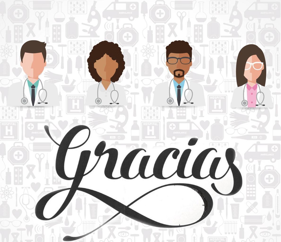 Homenaje a los médicos y sanitarios. 11 médicos de novela