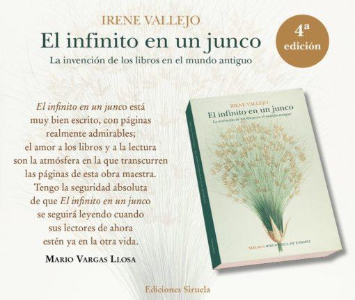El infinito en un junco – Irene Vallejo @edicionesiruela