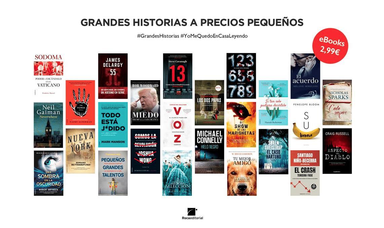 Rocaeditorial- GRANDES HISTORIAS A PRECIOS PEQUEÑOS