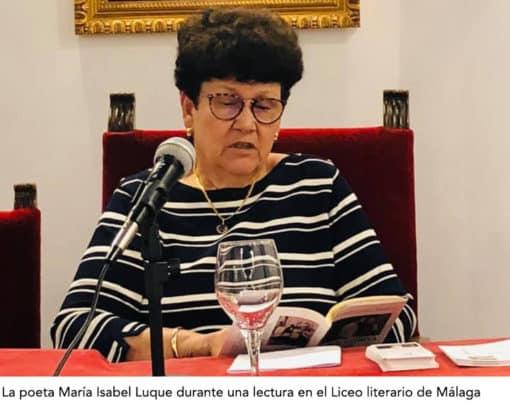 Empezar a publica en la madurez: María Isabel Luque, Su poesía y su tiempo