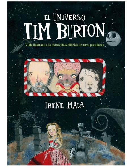 Un viaje al UNIVERSO DE TIM BURTON con la ilustradora Irene Mala (Lunwerg)0307