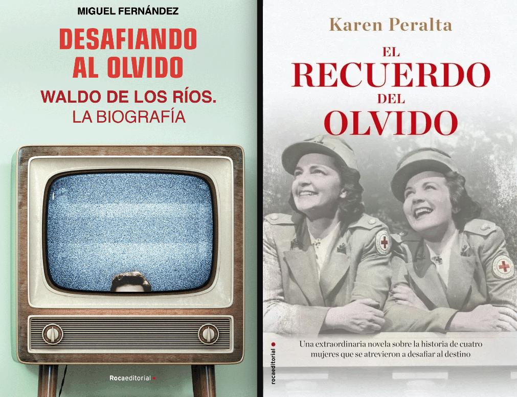 Los dos mejores libros de junio para leer en cualquier fase: Desafiando el olvido y El recuerdo del olvido @rocaeditorial