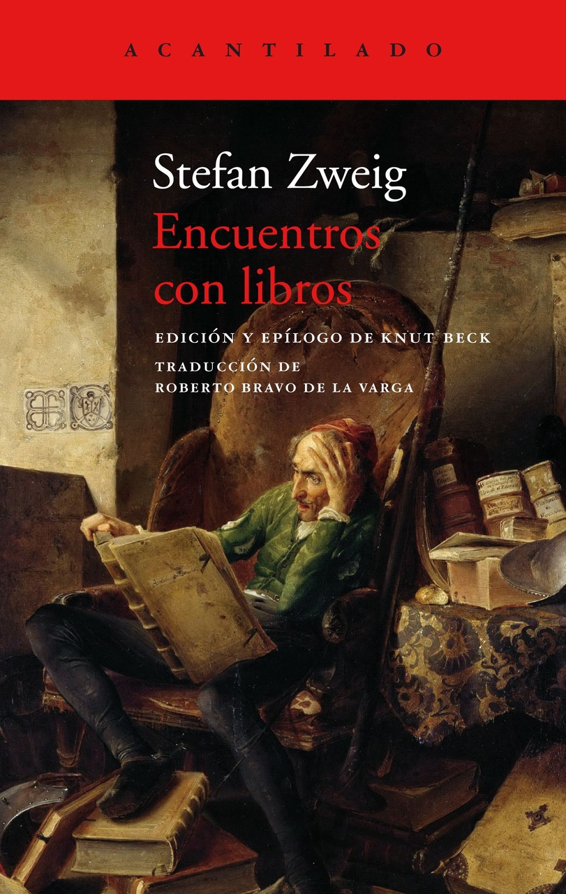 'ENCUENTROS CON LIBROS' (STEFAN ZWEIG): El 17 de junio en librerías