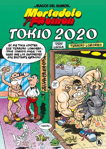 Este año TOKIO 2020 lo ganan Mortadelo y Filemón