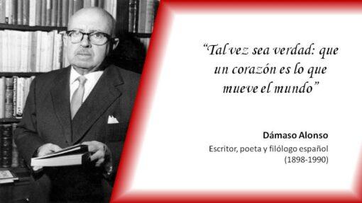 Tal día como hoy de 1898 nacía el poeta Dámaso Alonso, destacado miembro de la generación del 27