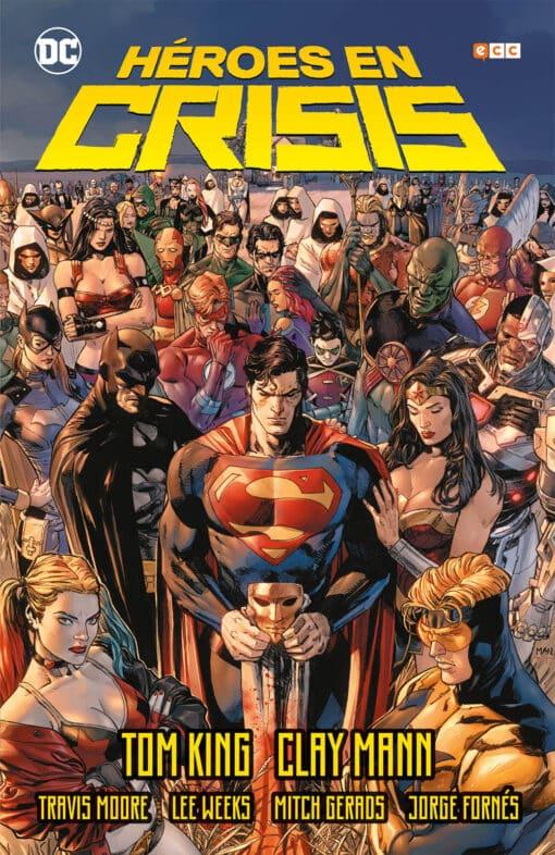 Héroes en crisis, de Tom King y Clay Mann