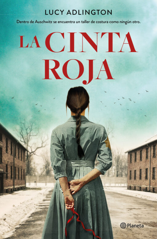 Llega 'La cinta roja', de Lucy Adlington, una novela cargada de amistad, bondad y heroísmo frente al horror