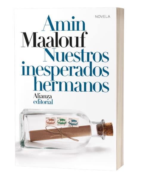"""Nuestros inesperados hermanos"""", la nueva novela de Amin Maalouf"""