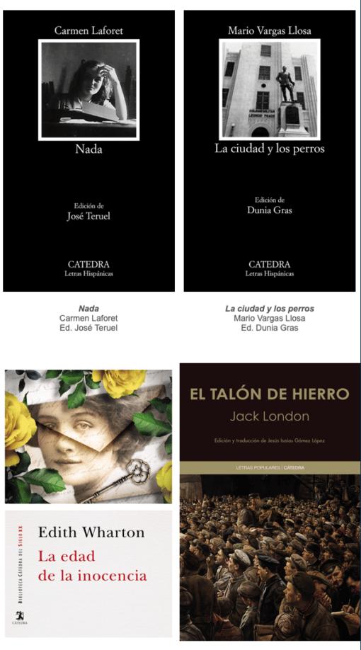 Regala libros según Cátedra