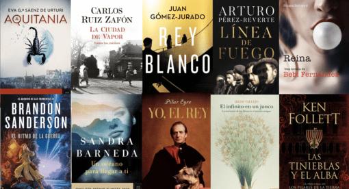 Los 10 libros más vendidos de todos los géneros al 29 de noviembre