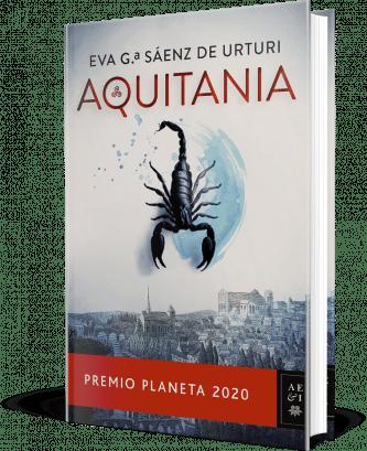 Premio Planeta 2020 Aquitania de Eva García Sáenz de Urturi