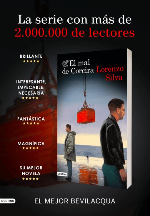 2020 es el año Bevilacqua ¡Más de 120.000 lectores de la serie de Lorenzo Silva!