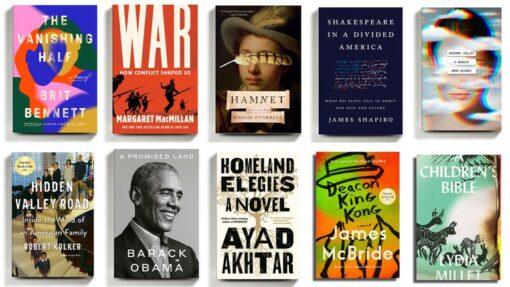 Los 10 mejores libros del año según el New York Times