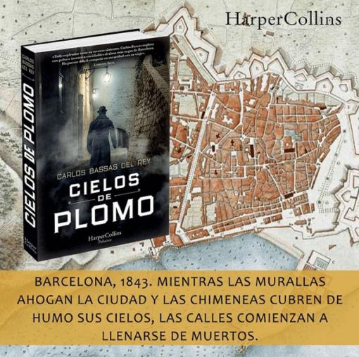 Próximamente 'CIELOS DE PLOMO', una novela policíaca e histórica de Carlos Bassas Del Rey.