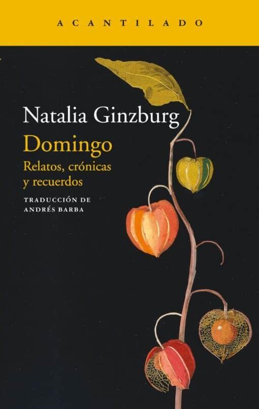 Domingo de Natalia Ginzburg
