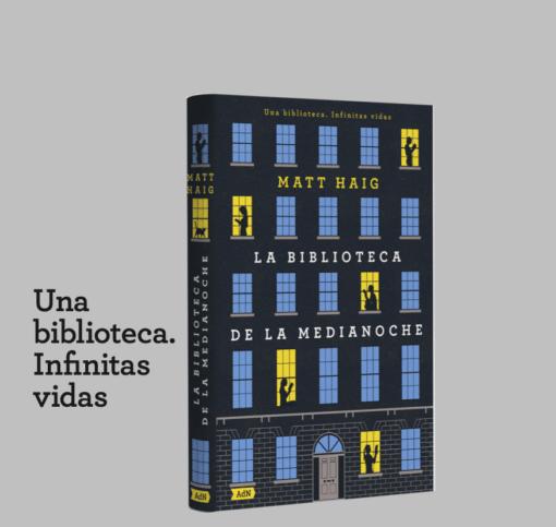 LA BIBLIOTECA DE LA MEDIANOCHE de Matt Haig