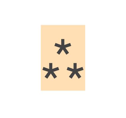 Signos ortográficos a punto de desaparecer: 1 El asterismo