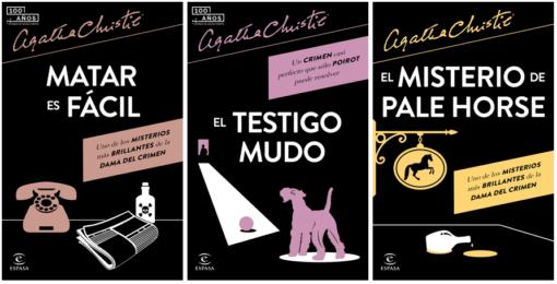 Espasa amplía su colección Agatha Christie  con tres de sus novelas más aclamadas