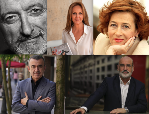 Los 5 autores más vendidos confluyen con sus nuevas novelas en los próximos meses