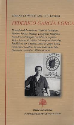 Teatro completo de Lorca en Biblioteca Castro