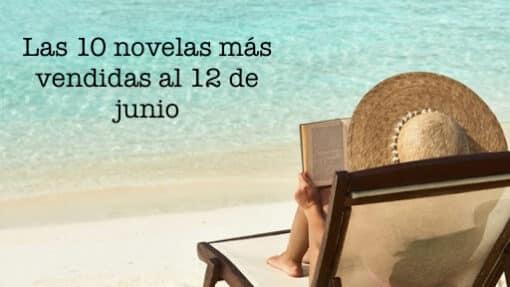 Las 10 novelas más vendidas al 12 de junio
