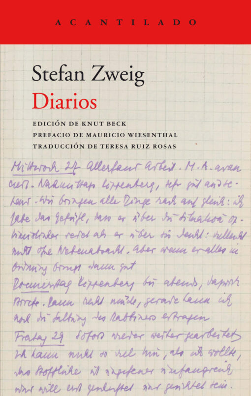 Diarios, de Stefan Zweig.