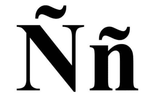 ¿Cuál es el origen de la letra española Ñ?