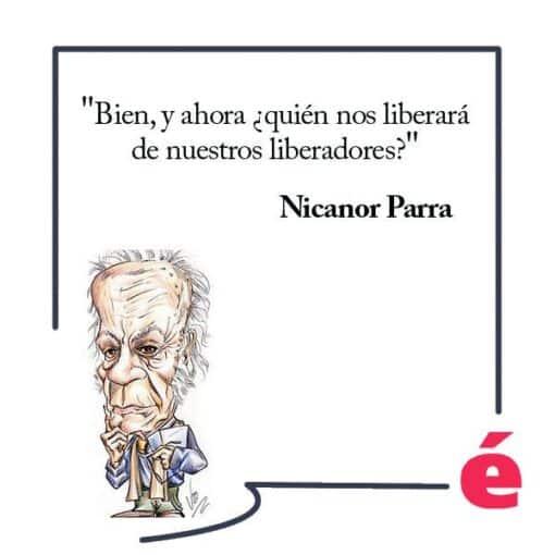 """Un día como hoy, en 1914, nació el poeta Nicanor Parra, autor de """"Poemas y antipoemas"""""""