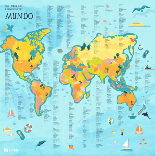 Los libros más traducidos de cada país