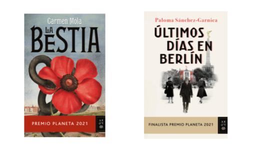 Los Premios Planeta estarán en librerías el 4 de noviembre. Aquí tienes las portadas.