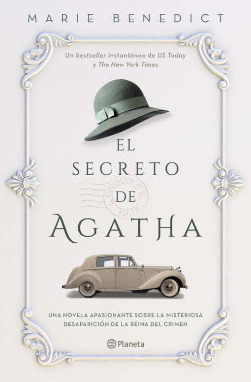 Llega El secreto de Agatha, una apasionante novela histórica sobre la misteriosa desaparición de Agatha Christie en 1926