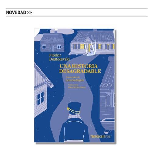 Bicentenario de Fiódor Dostoievski: «Una historia desagradable», ilustrado por Kenia Rodríguez